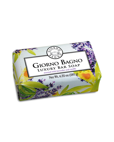 Details of the product Scented with Lavender and Vanilla <br>Net Wt. 6.35 oz ( 180 g )