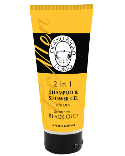 Details of the product 2 in 1 Shampoo & Shower Scented Gel Black Oud 6.76 fl oz (200 mL)