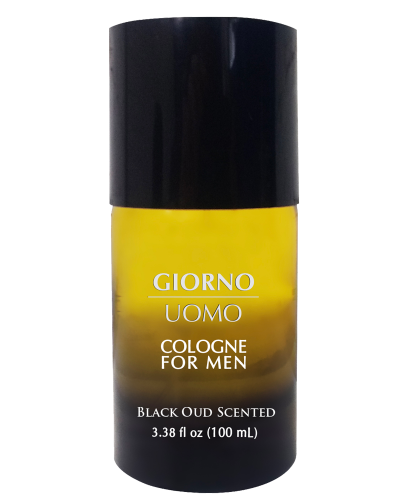 Details of the product Giorno Uomo - Cologne For Men Black Oud Scented Net Wt. 3.38 fl  ( 100 mL )